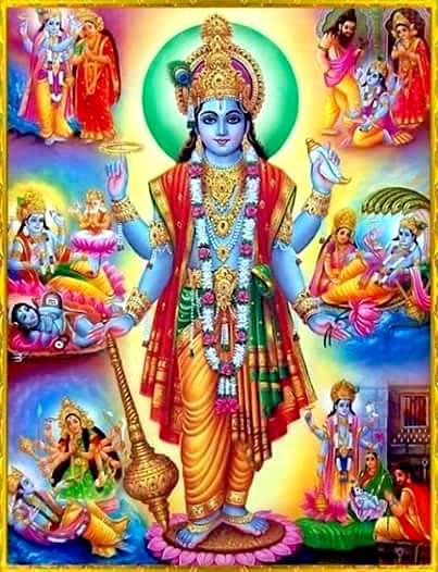 Shri Krushna Sharanm Mamah….